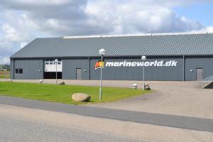 Marineworld lager og kontor