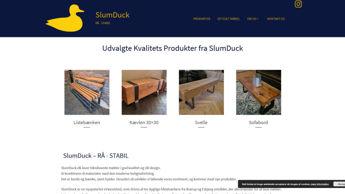 Stilfulde møbler fra SlumDuck