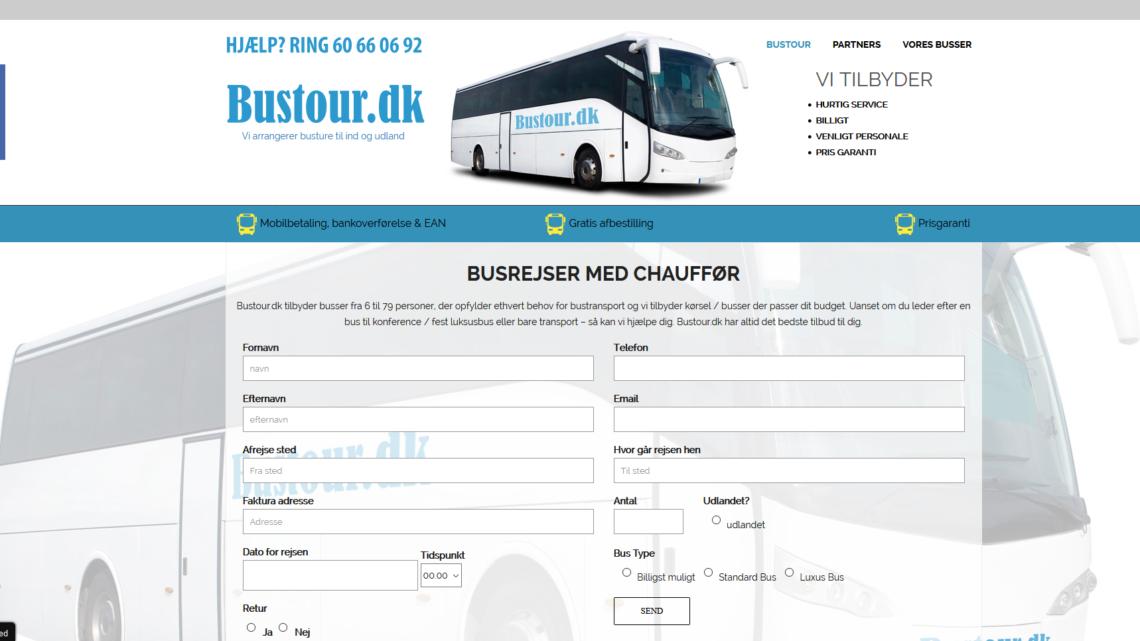 Busture til ind- og udland med Bustour