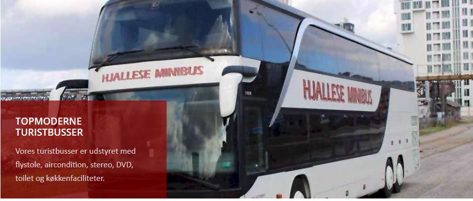 Turistkørsel med Hjallese Minibus