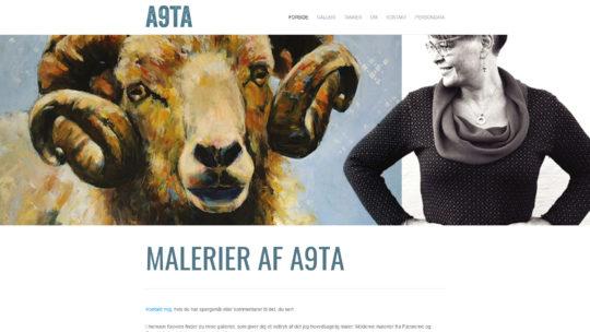 Moderne malerier fra Færøerne og Danmark