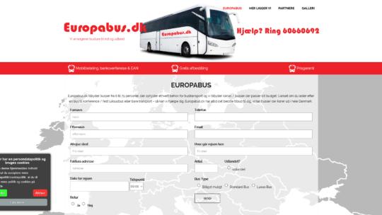 Europabus – Busser til ethvert behov