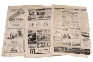Reklame gammeldags